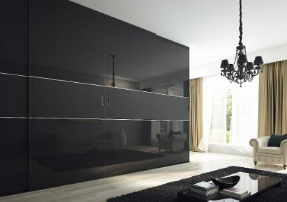 Modern and contemporary sliding door wardrobe