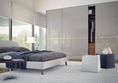 modern thin frame sliding doors