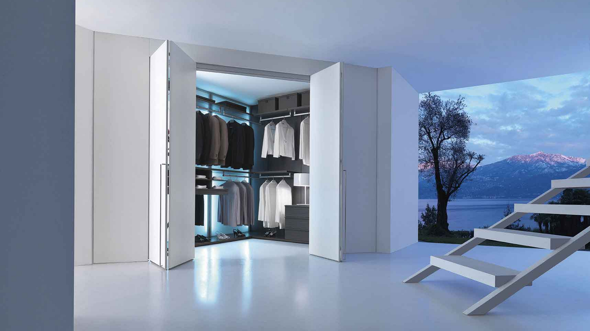 Интерьер гардеробной комнаты: где ее устроить? - мебельная к.